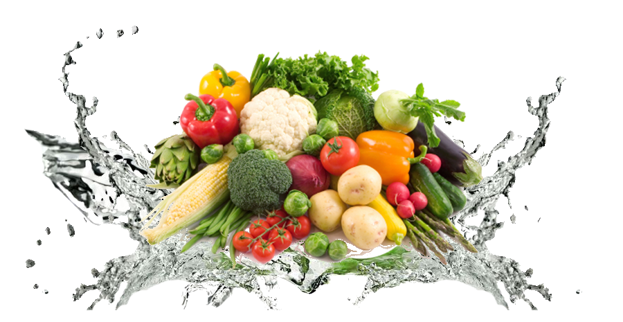 fruits and veggies in veggie wash