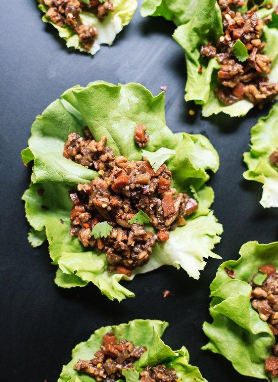 Vegan Thai Lettuce Wraps